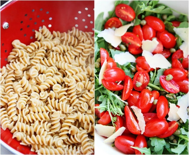 Arugula Pasta Salad on twopeasandtheirpod.com