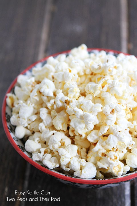 Learn how to make Kettle Corn with perfectly popped kernels