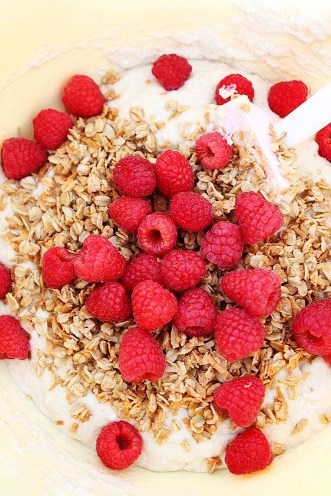 Raspberry-Coconut-Granola-Pancakes-1