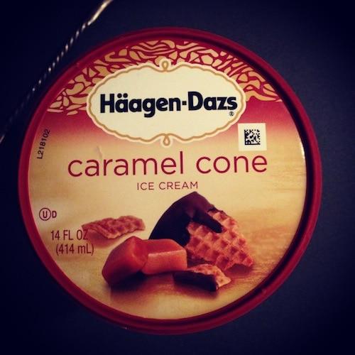 caramel-cone