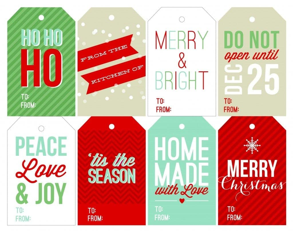 image about Free Printable Gift Tags identify Cost-free Holiday vacation Printable Reward Tags