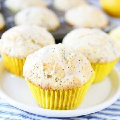 How to make Lemon poppy seed muffins