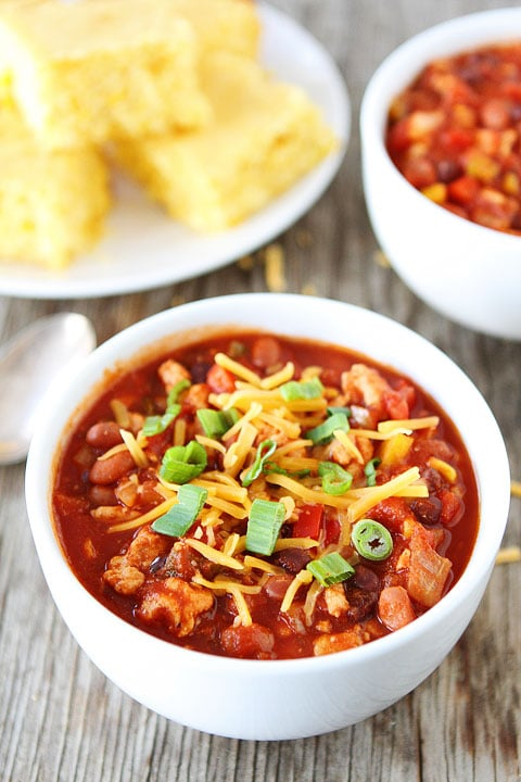 Slow Cooker Turkey Chili Healthy