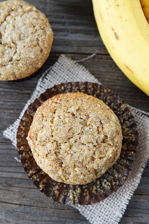 Easy and Healthy Whole Wheat Banana Muffin Recipe
