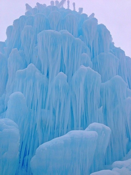 Midway Ice Castle on twopeasandtheirpod.com