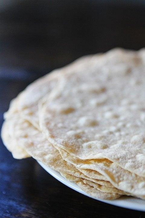 easy tortilla recipe for homemade flour tortillas