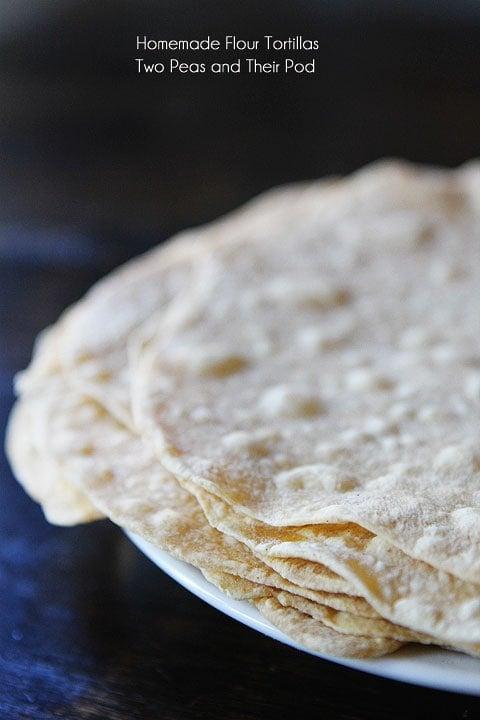 Homemade Flour Tortillas So Easy