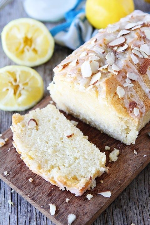 This easy Lemon Almond quick bread recipe is great for breakfast, brunch, or dessert.
