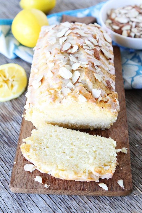 Lemon Almond Bread is a family favorite and great for breakfast, brunch, or dessert!