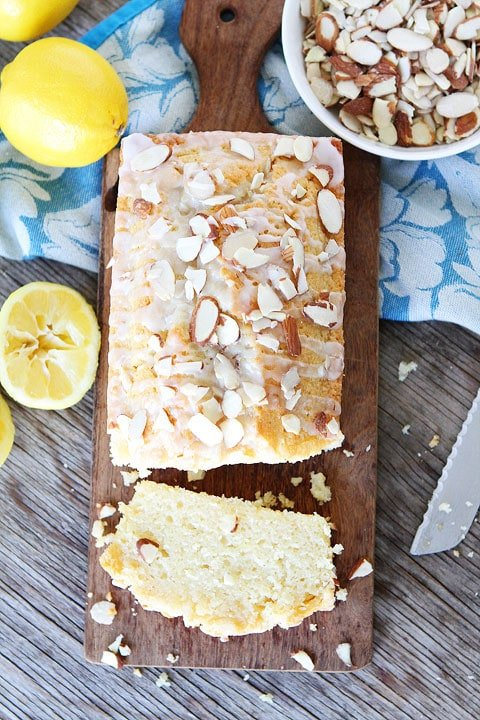 I made this Lemon Almond Quick Bread and it is the BEST! I will never make another recipe.
