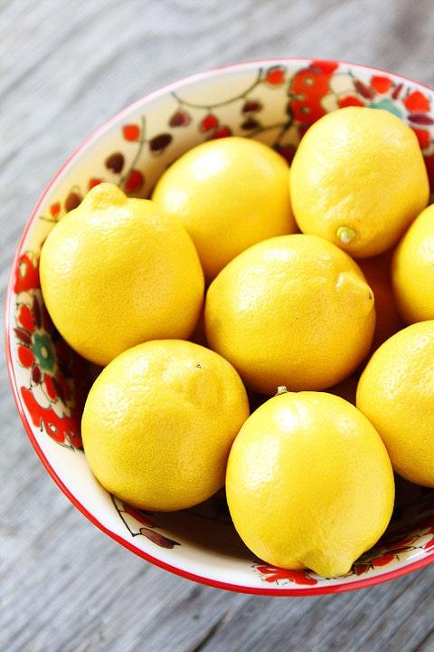 Lemon Cookie Recipe on twopeasandtheirpod.com