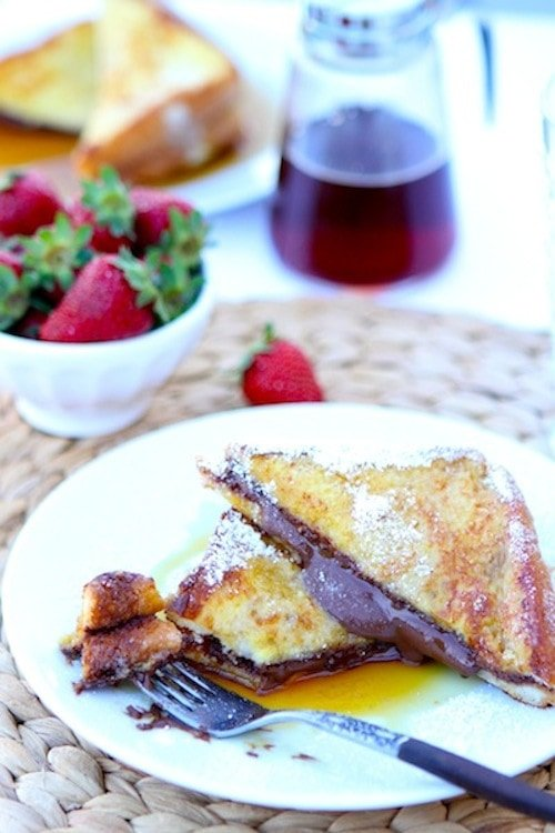 Nutella stuffed french toast | French Toast Recipes | A Collection Of The Best Homemade Recipes