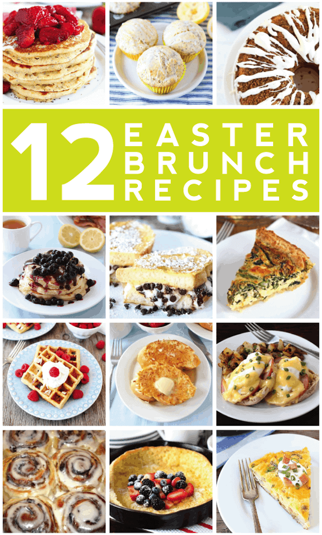 12 Easter Brunch Recipes Easter Recipes Two Peas