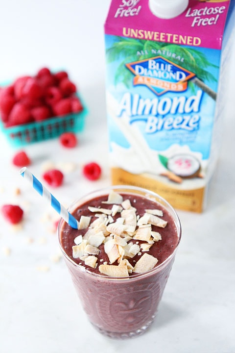 Raspberry Coconut Smoothie Recipe