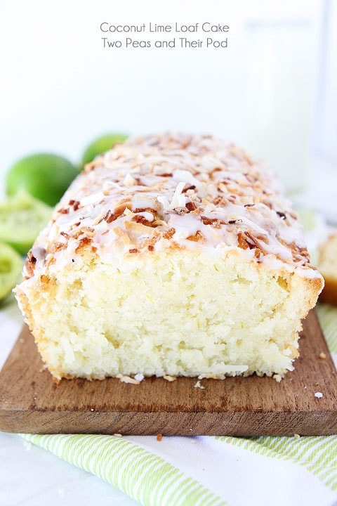 Coconut Lime Loaf Cake Recipe