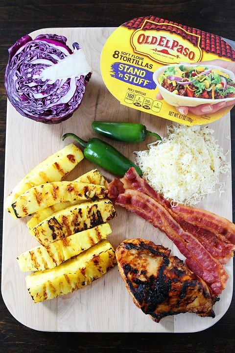 Grilled-BBQ-Chicken-and-Pineapple-Tacos-3