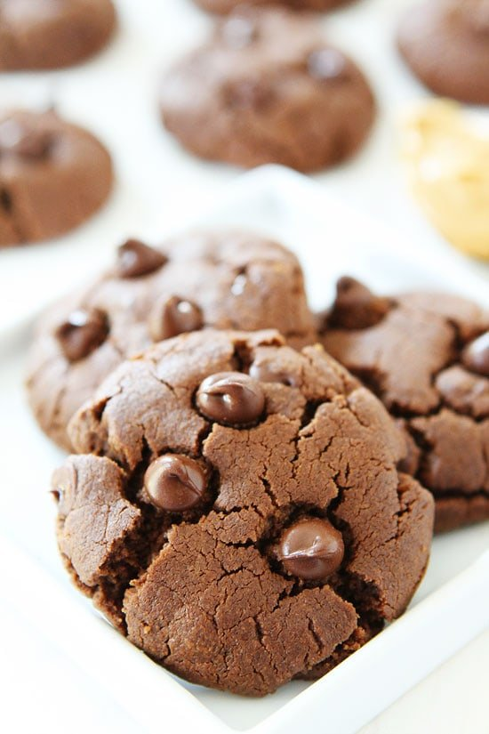 Chocolate Peanut Butter Cookie with no flour (Gluten free)