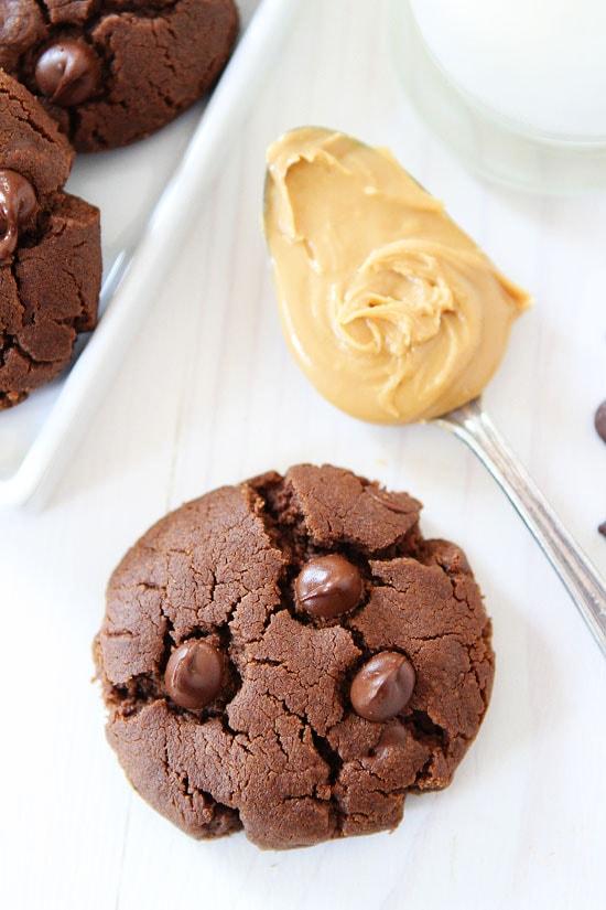 Gluten Free Chocolate Peanut Butter Cookies Recipe