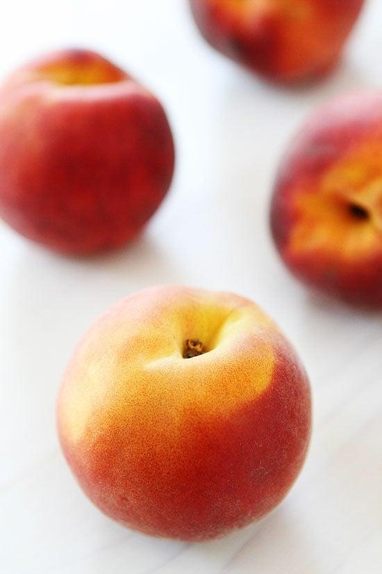 Fresh peaches for a Peach Smoothie