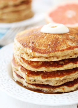 Healthy Zucchini Pancakes you can freeze!
