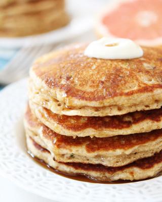 Healthy Zucchini Pancakes you can freeze!