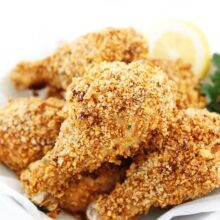 how to make oven fried chicken with a healthy fried chicken recipe