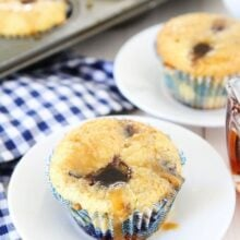 how to make blueberry muffins without milk