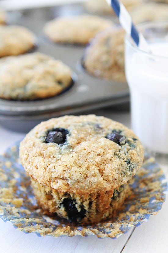 vegan blueberry muffins that are healthy and delicious