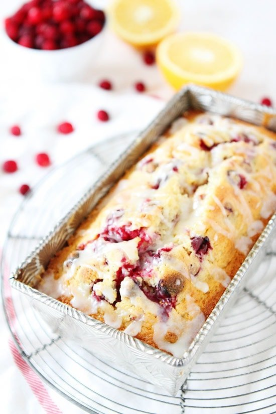 Cranberry Orange Loaf Cake Recipe
