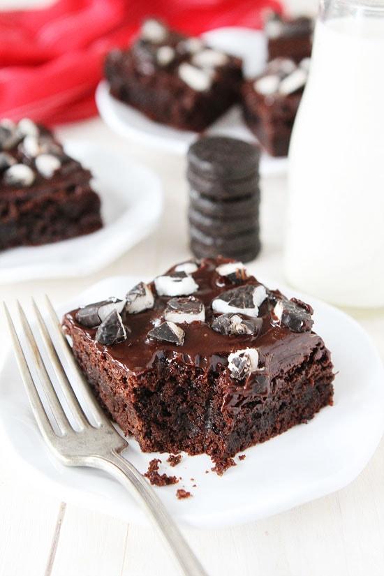 Peppermint Pattie Brownies Recipe