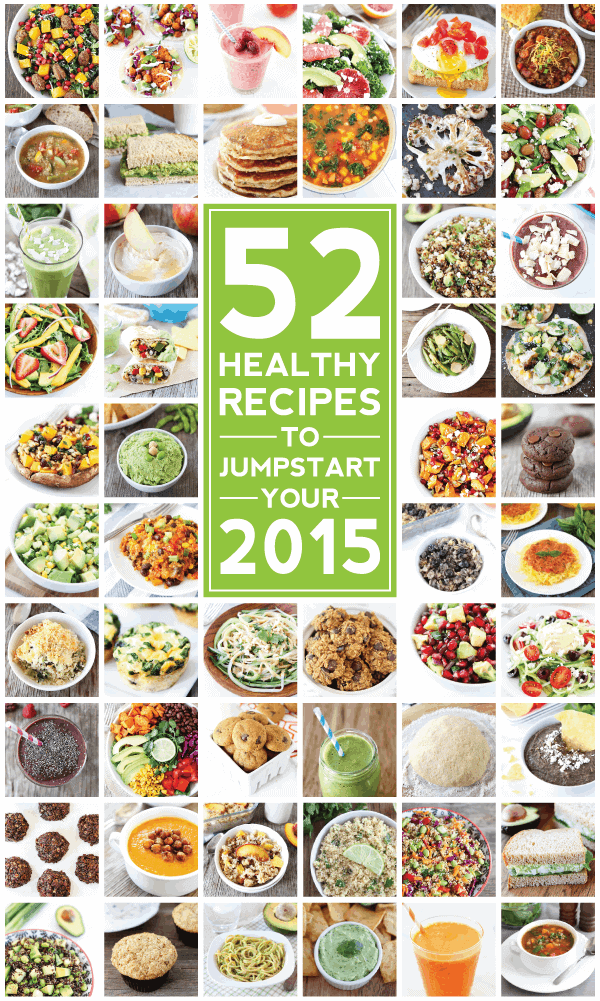52 Healthy Recipes for 2015