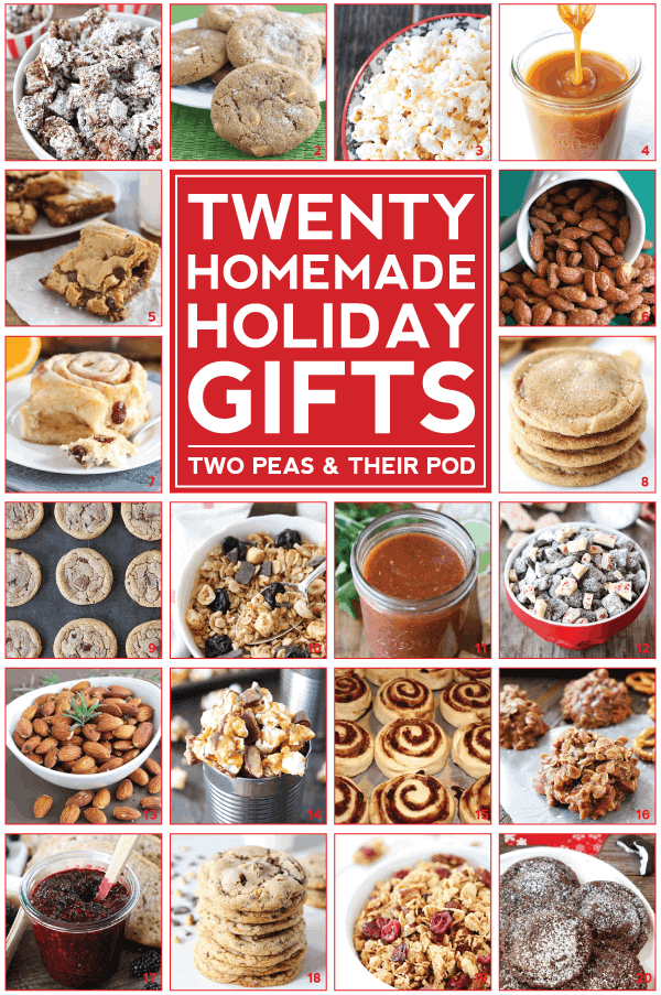 20 Homemade Holiday Gifts Two Peas Their Pod