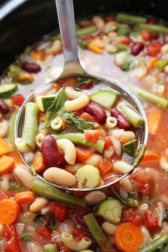 recipe: simple minestrone soup [10]