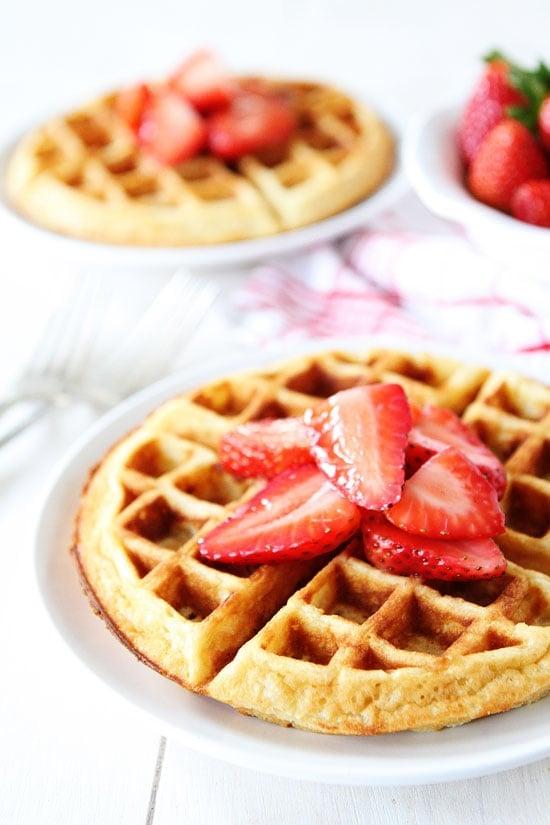 Yeasted Belgian Waffle Recipe