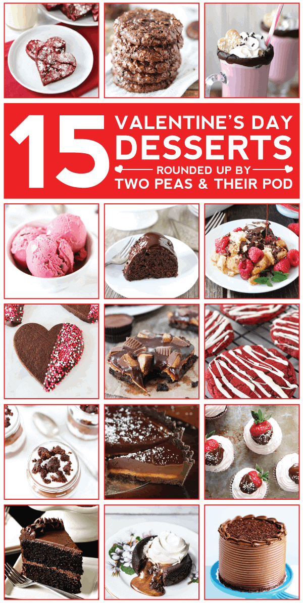 15 Valentine S Day Desserts Two Peas Their Pod