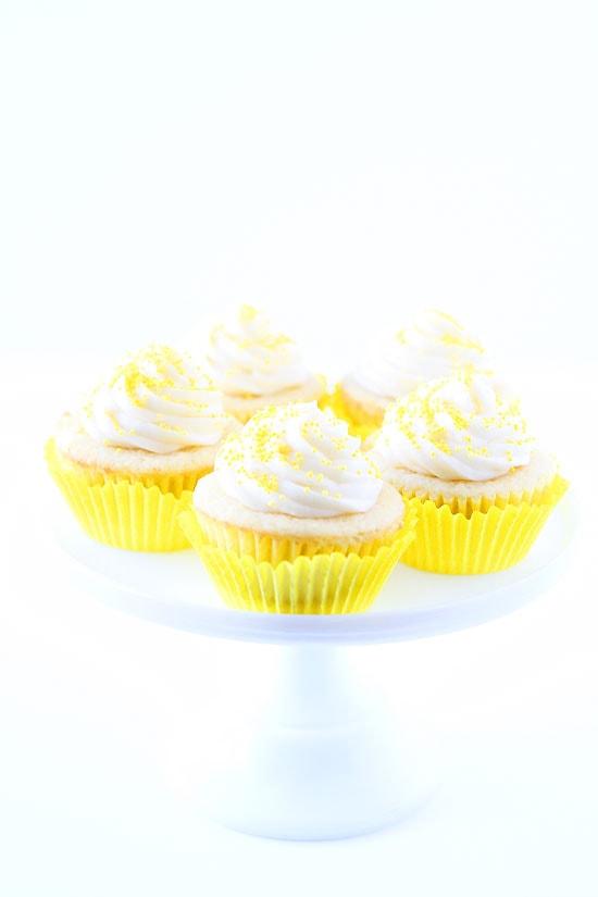 Lemon Curd Cupcakes Recipe