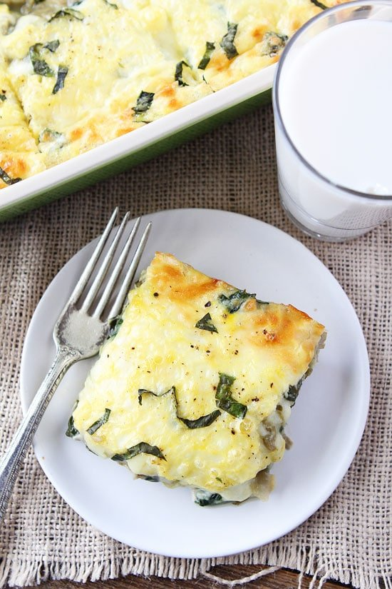 Spinach Artichoke Egg Casserole Recipe