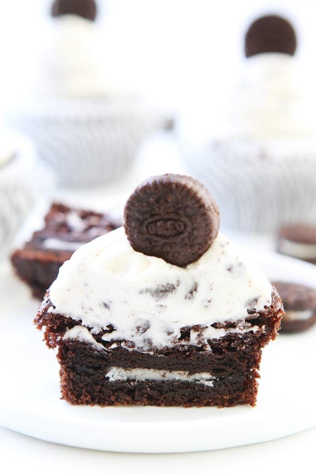 Cookies and Cream Cupcakes Recipe
