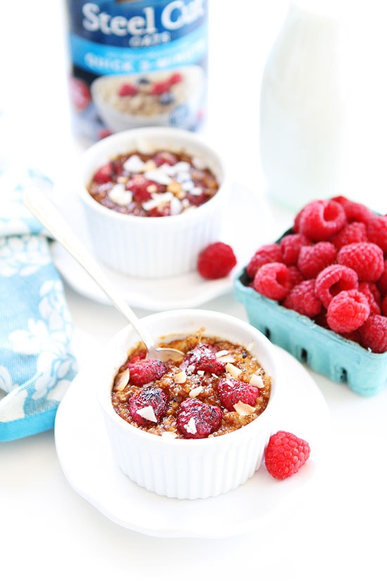Raspberry Coconut Crème Brûlée Oatmeal Recipe
