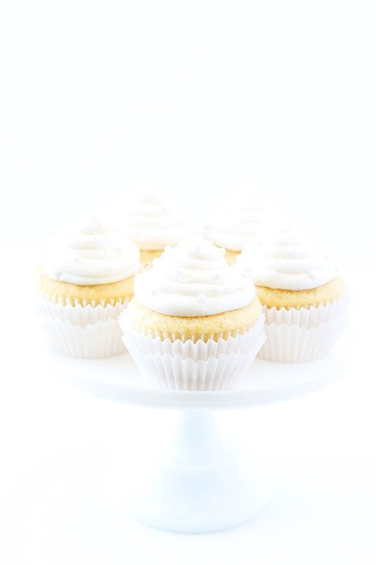 Vanilla Almond Cupcake Recipe