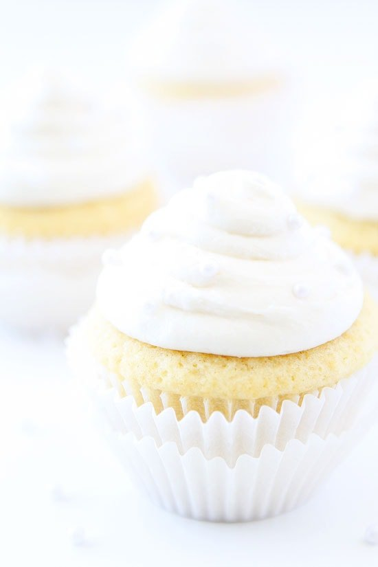 Vanilla Almond Cupcake Recipe