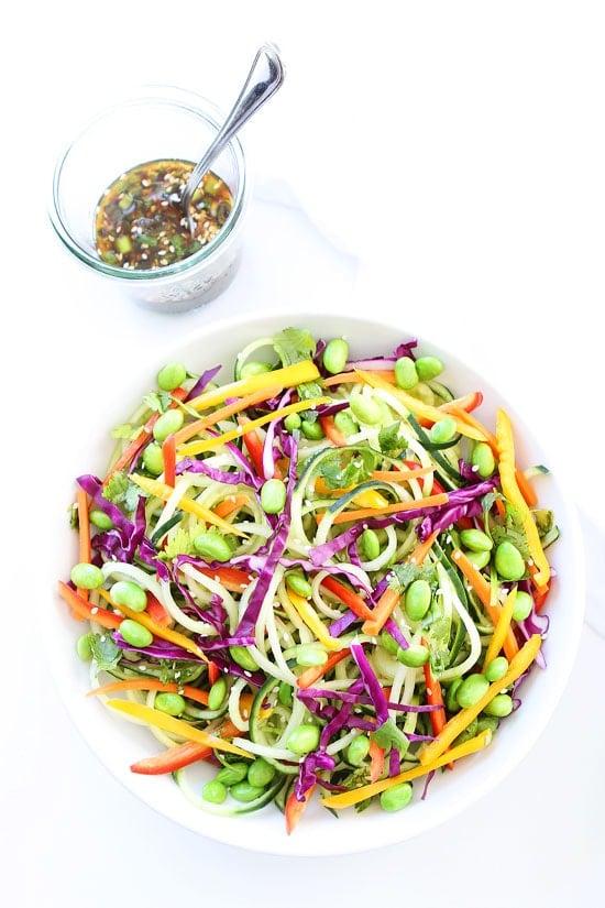 Asian Cucumber Noodle Salad Recipe