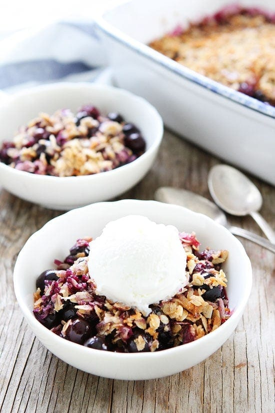 Blueberry Coconut Crisp Recipe