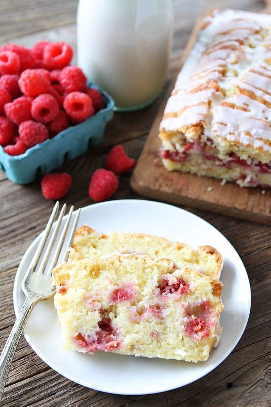 Coconut Raspberry Bread Recipe