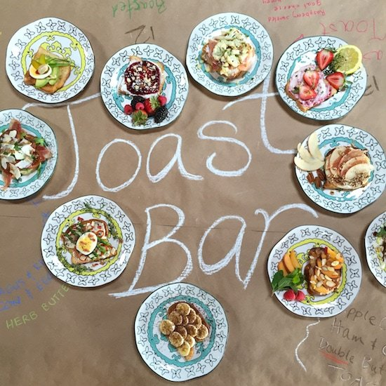 Toast-bar