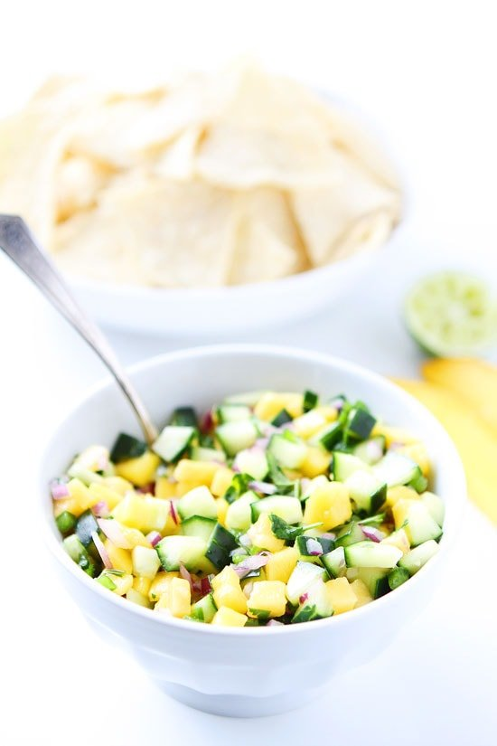 Cucumber Mango Salsa Recipe
