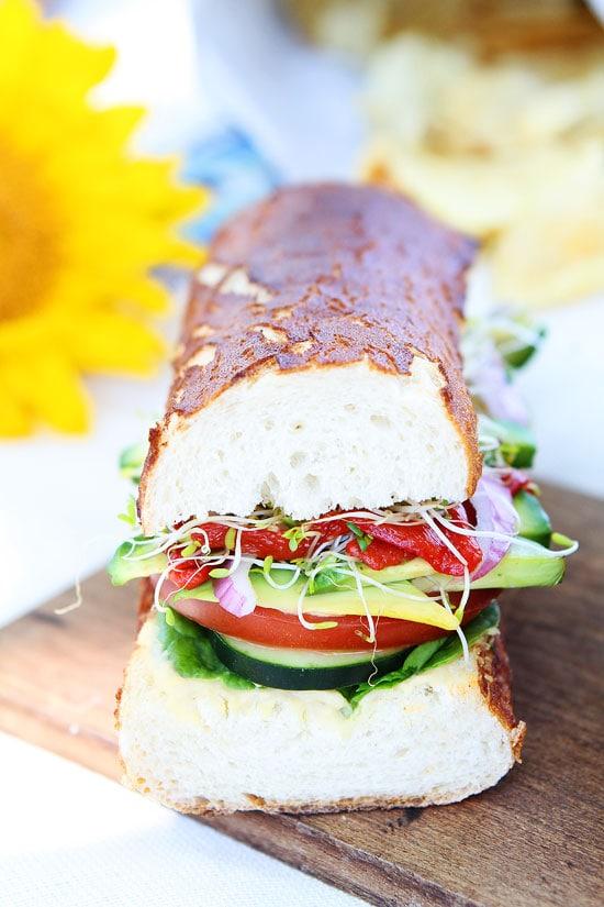Ultimate Veggie Sandwich Recipe