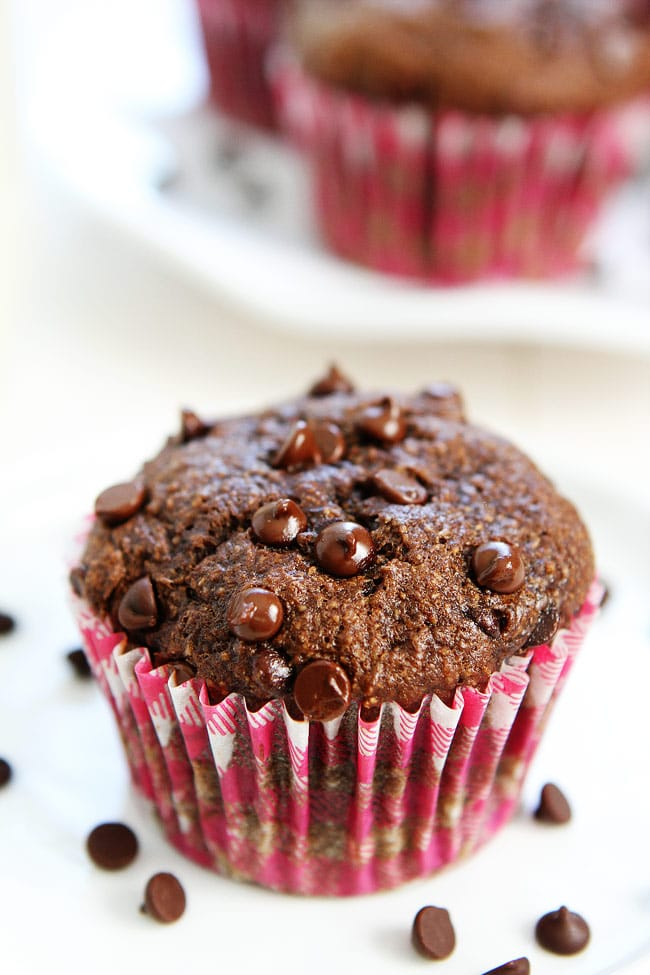 Healthy Chocolate Banana Muffins Recipe
