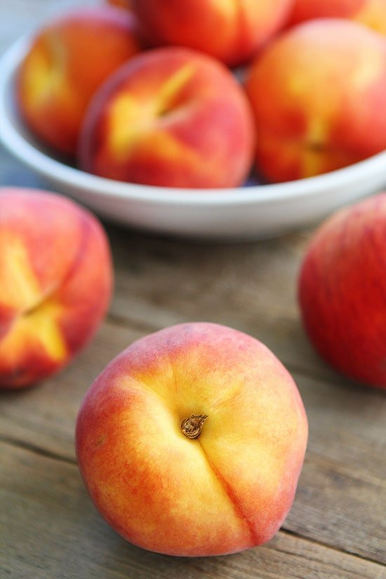 Peaches for Peach Crisp Recipe
