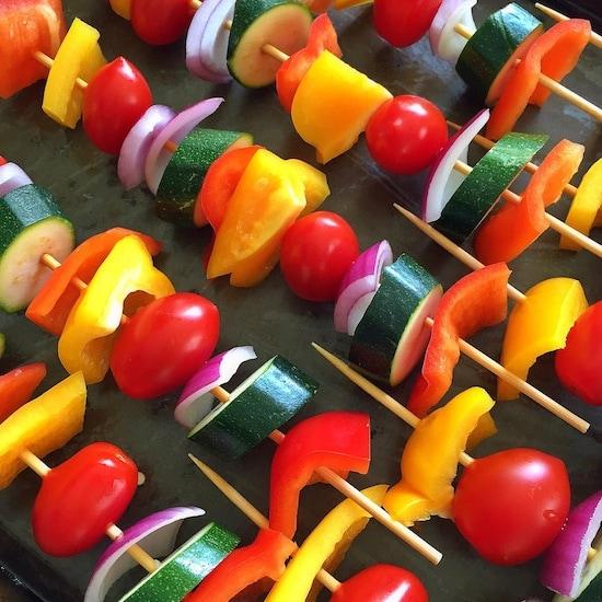 veggie-kebabs